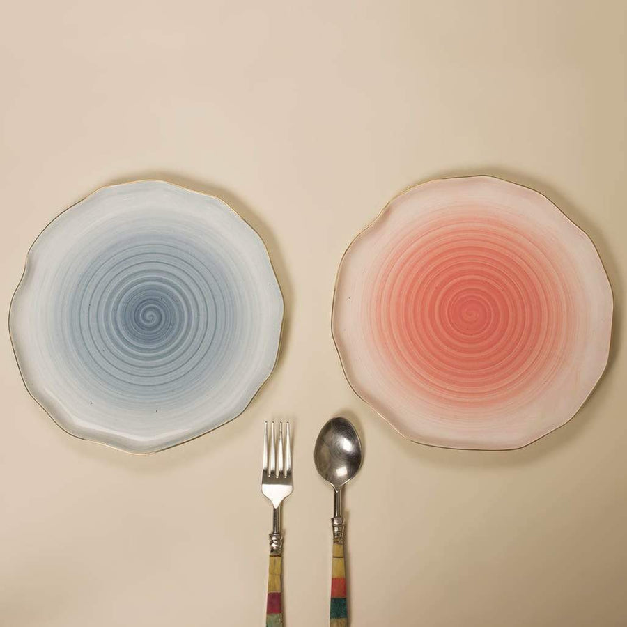 Watercolor Magic Dinner Plate