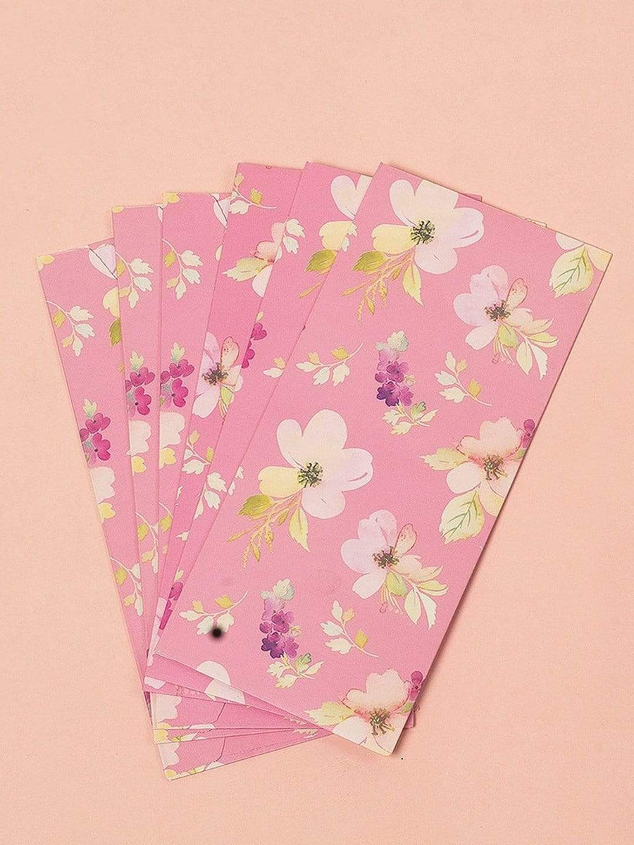 Wayside Flowers Envelopes Set of 6