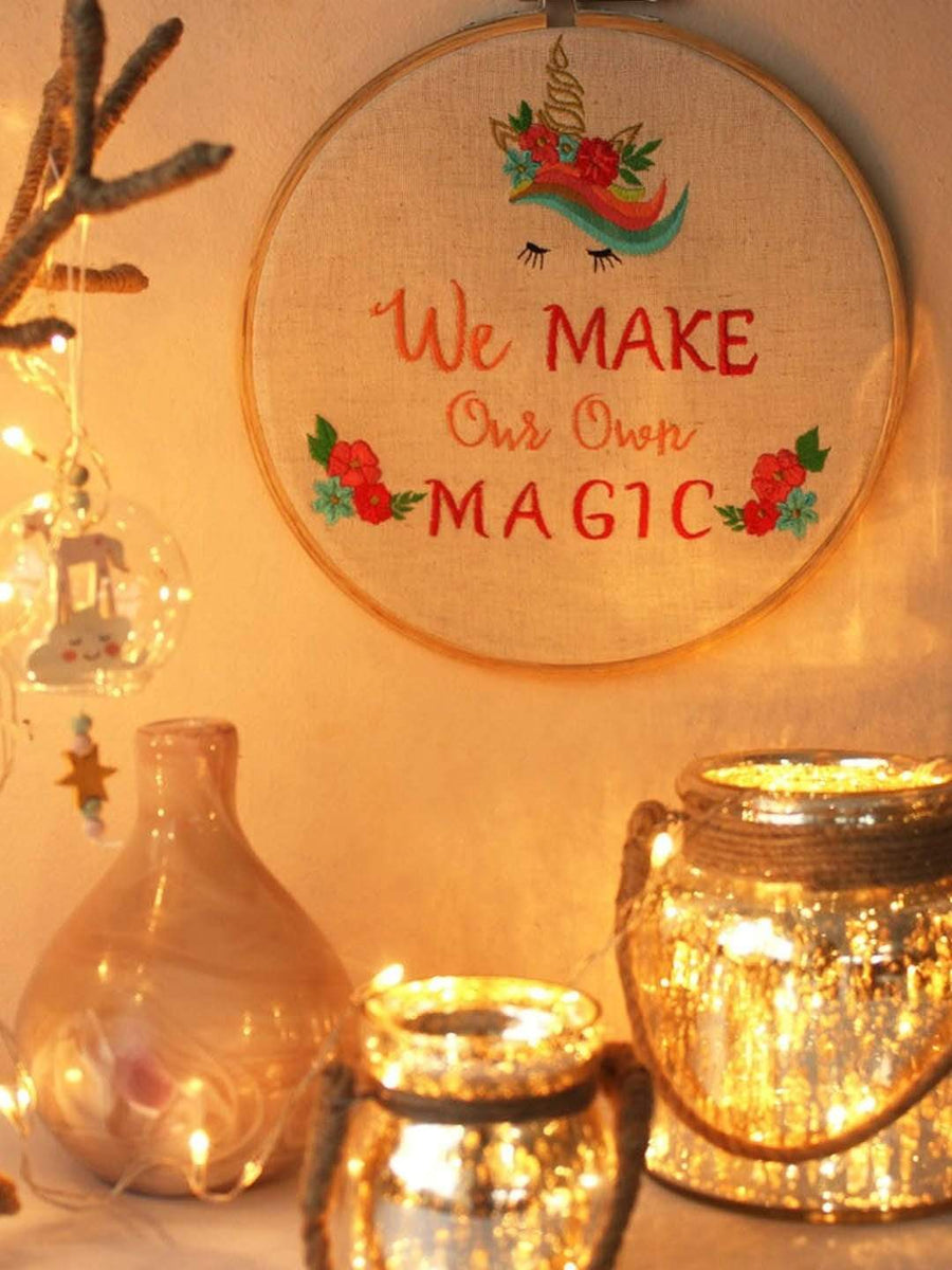 We Make Our Own Magic - Wall Hoop