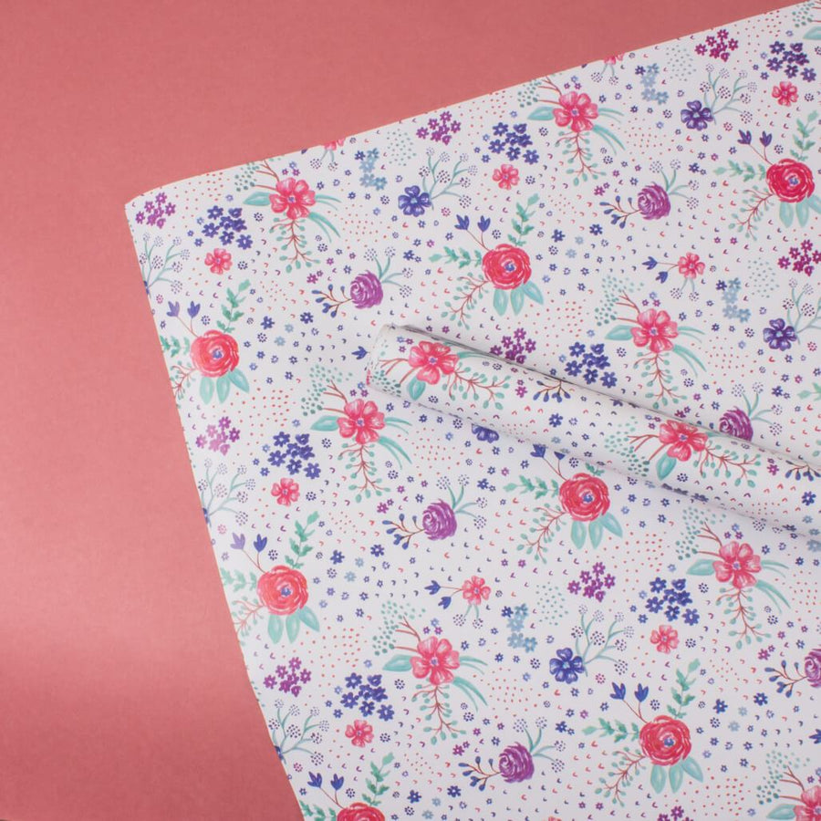 Wildflowers -Set of 3 Wrapping Sheet