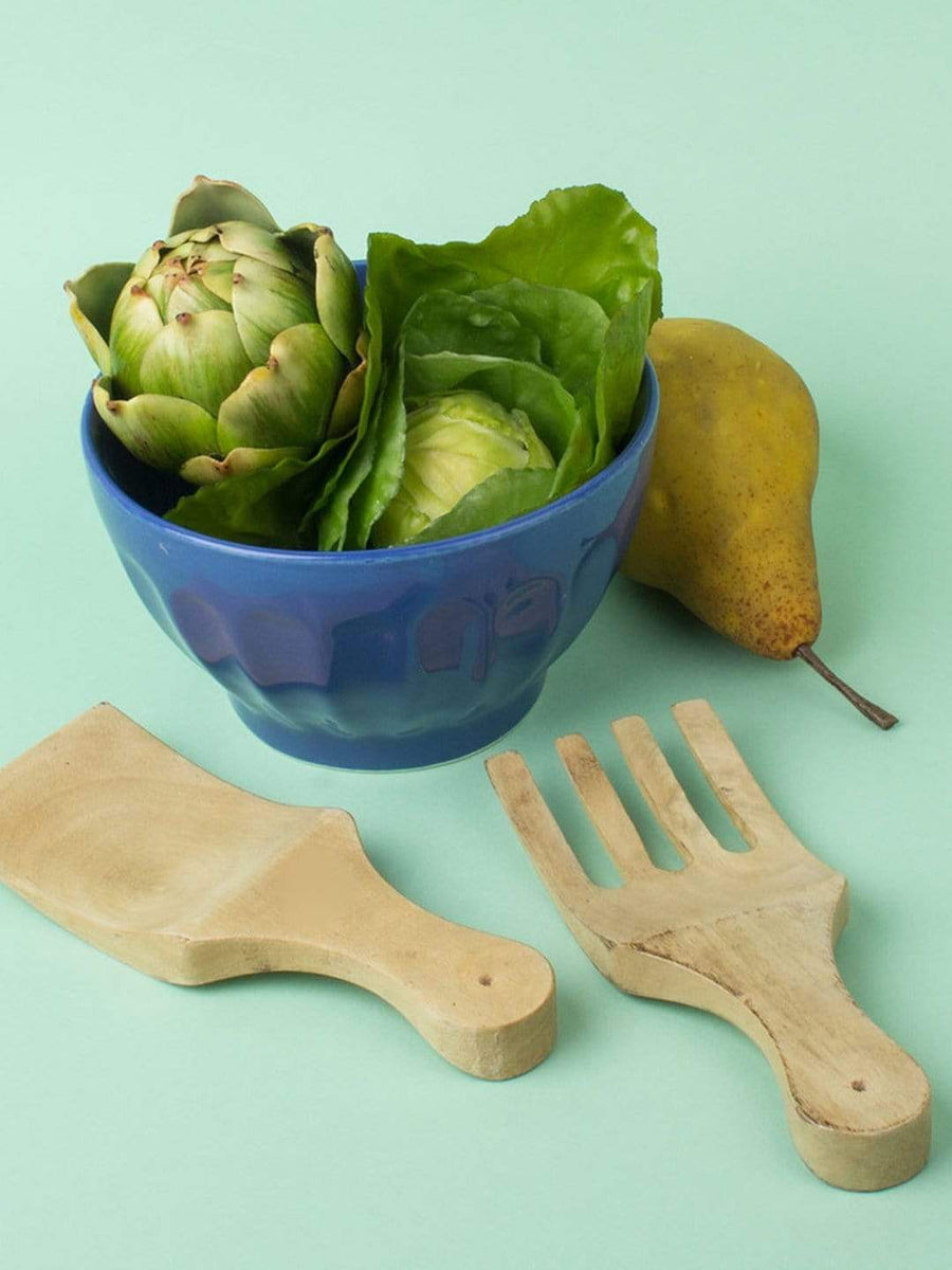Wooden Salad Server - Set of 2
