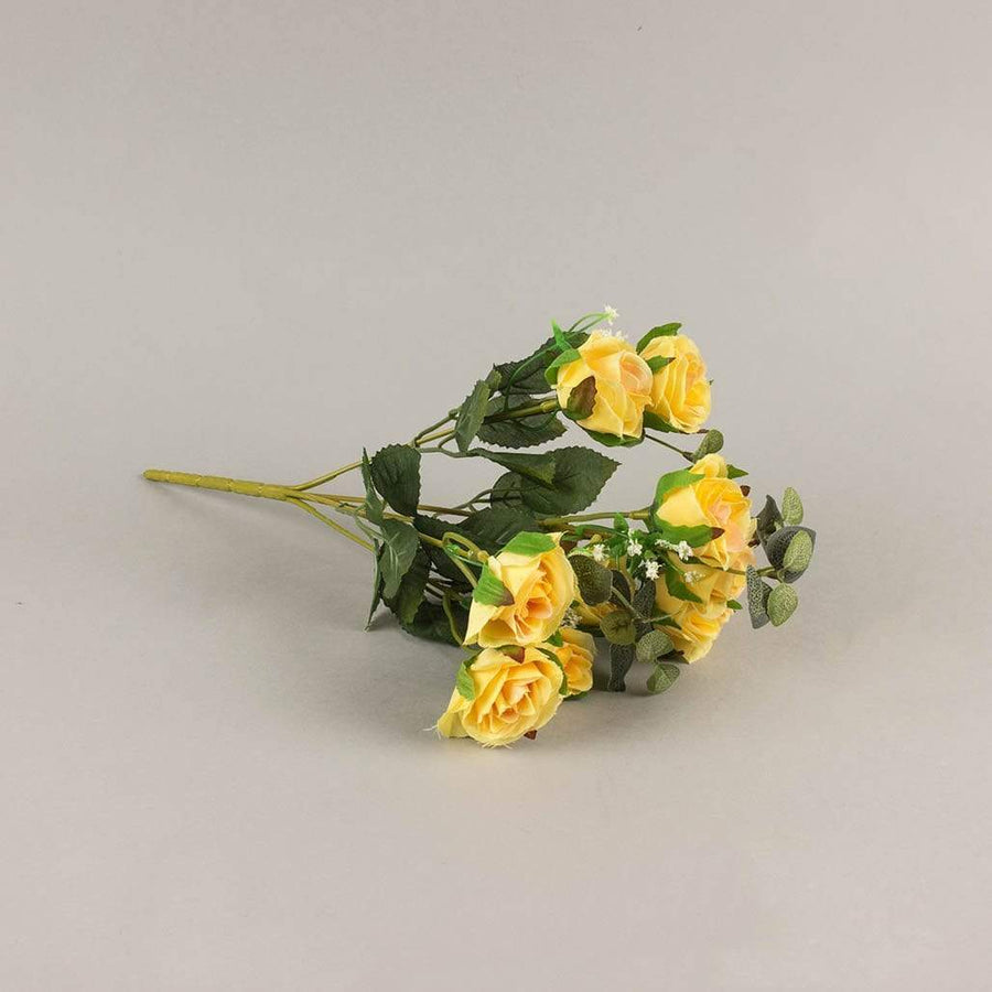 Yellow Damask Rose Bunch