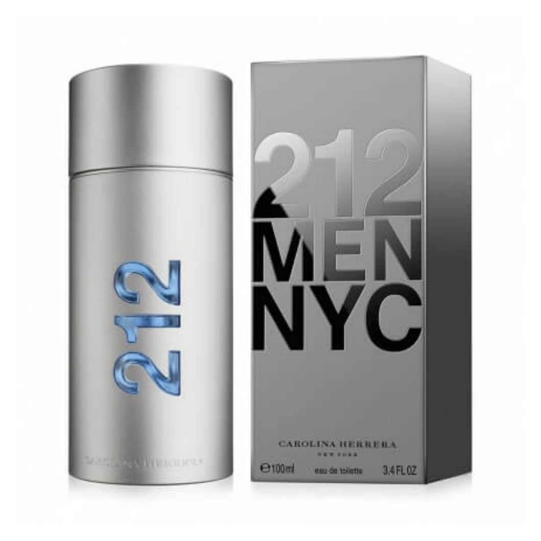 Carolina Herrera 212 NYC for Men EDT 3.4 OZ