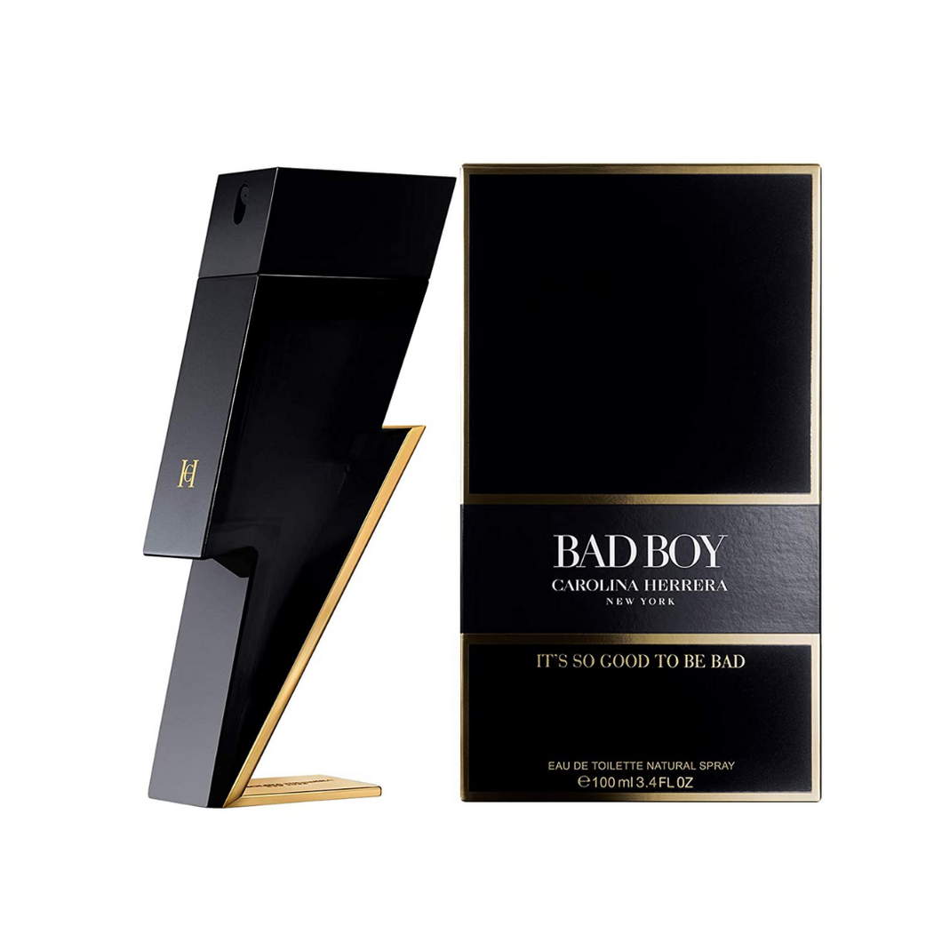 Carolina Herrera Bad Boy EDT 3.4 OZ