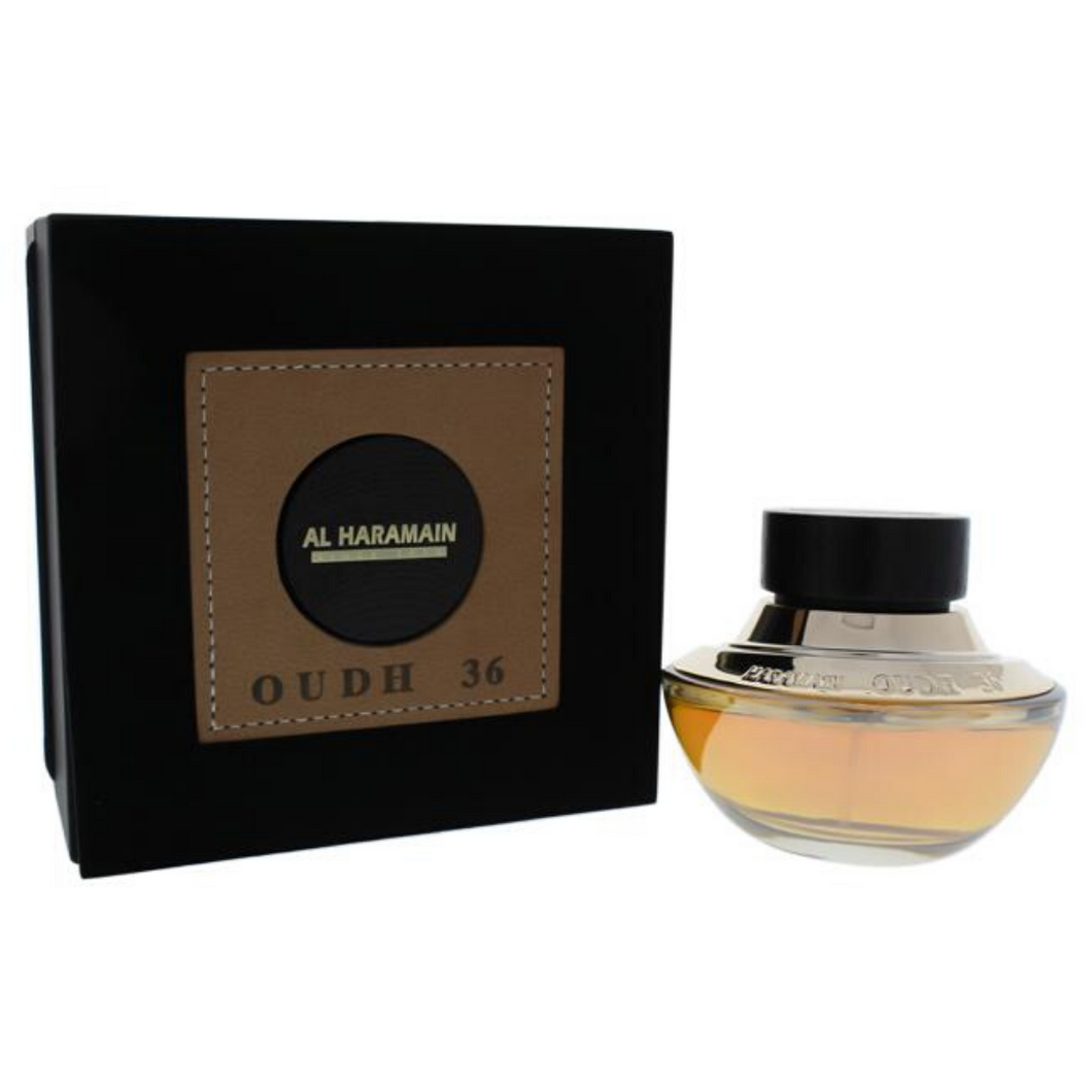 Al Haramain Oudh 36 EDP For Unisex 2.5 OZ