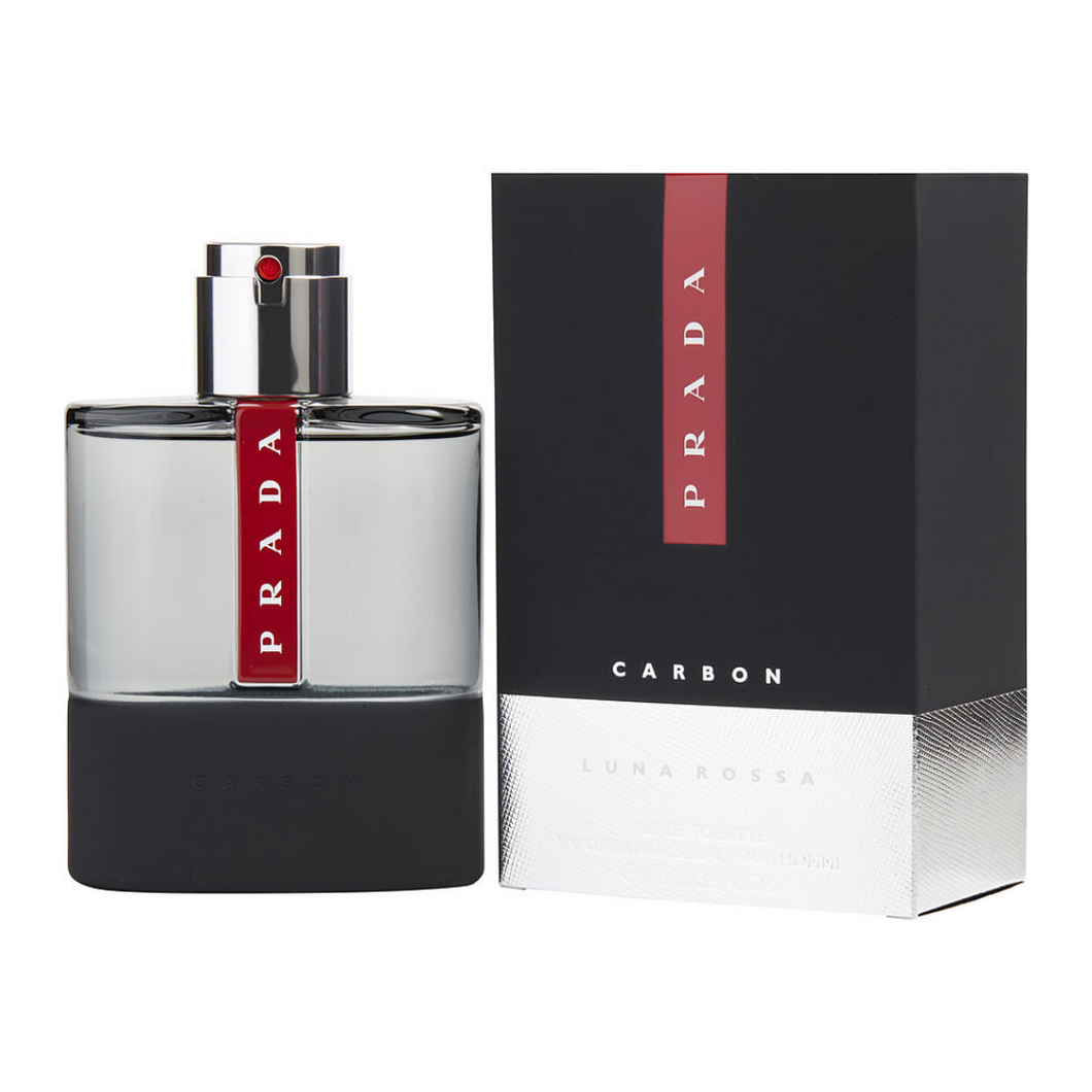 Prada Luna Rossa Carbon for Men EDT 3.4 OZ