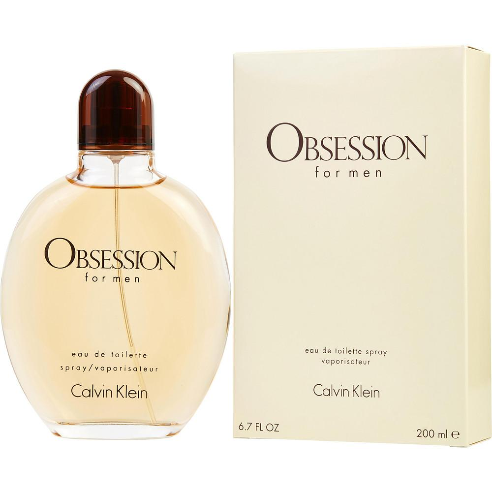CALVIN KLEIN OBSESSION MEN EDT SPRAY 6.7 oz