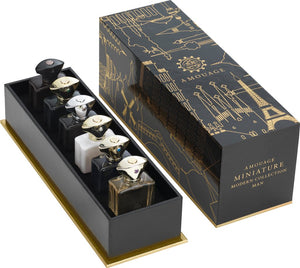 Amouage Miniature Modern Collection Man (Lyric, Epic, Memoir, Honour, Interlude and Beloved)