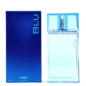 Ajmal Blu For Men Eau De Parfum Spray 3 Oz By Ajmal