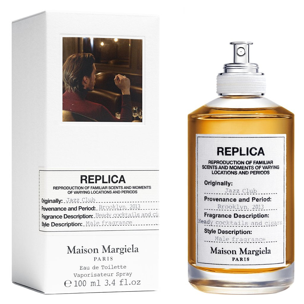 Replica Jazz Club Eau de Toilette Fragrance MAISON MARGIELA 3.4oz