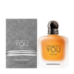 Emporio Armani Stronger With You Freezemen Eau De Toilette Spray 3.4 oz