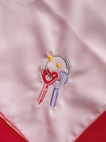 Heart Keys Bandana