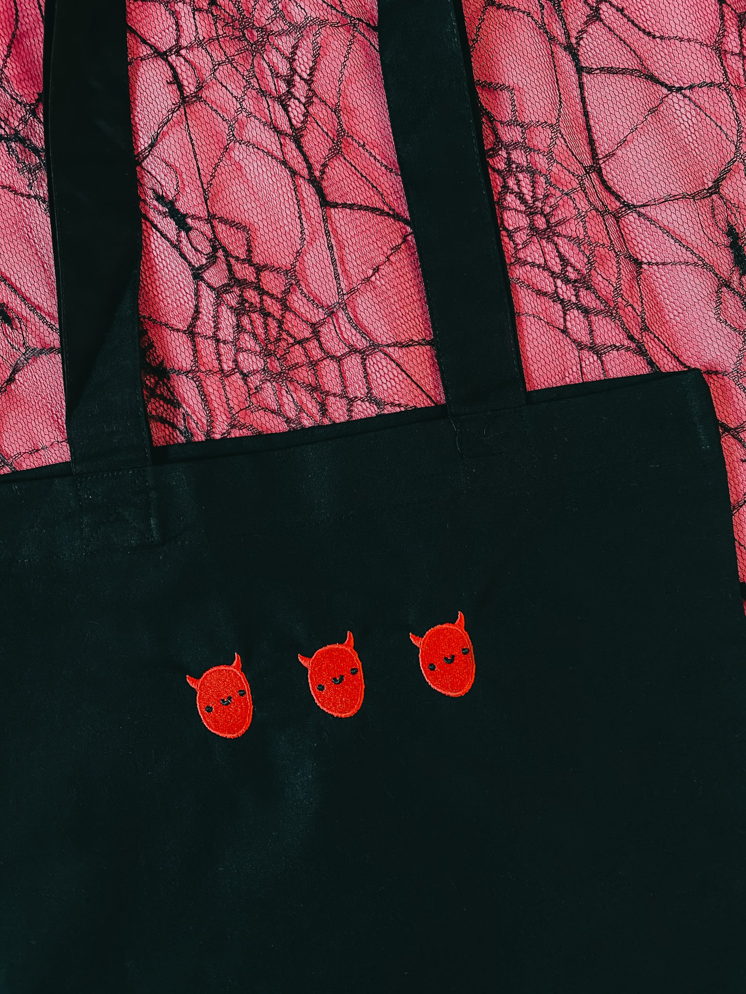 Lil' Devil Organic Tote Bag