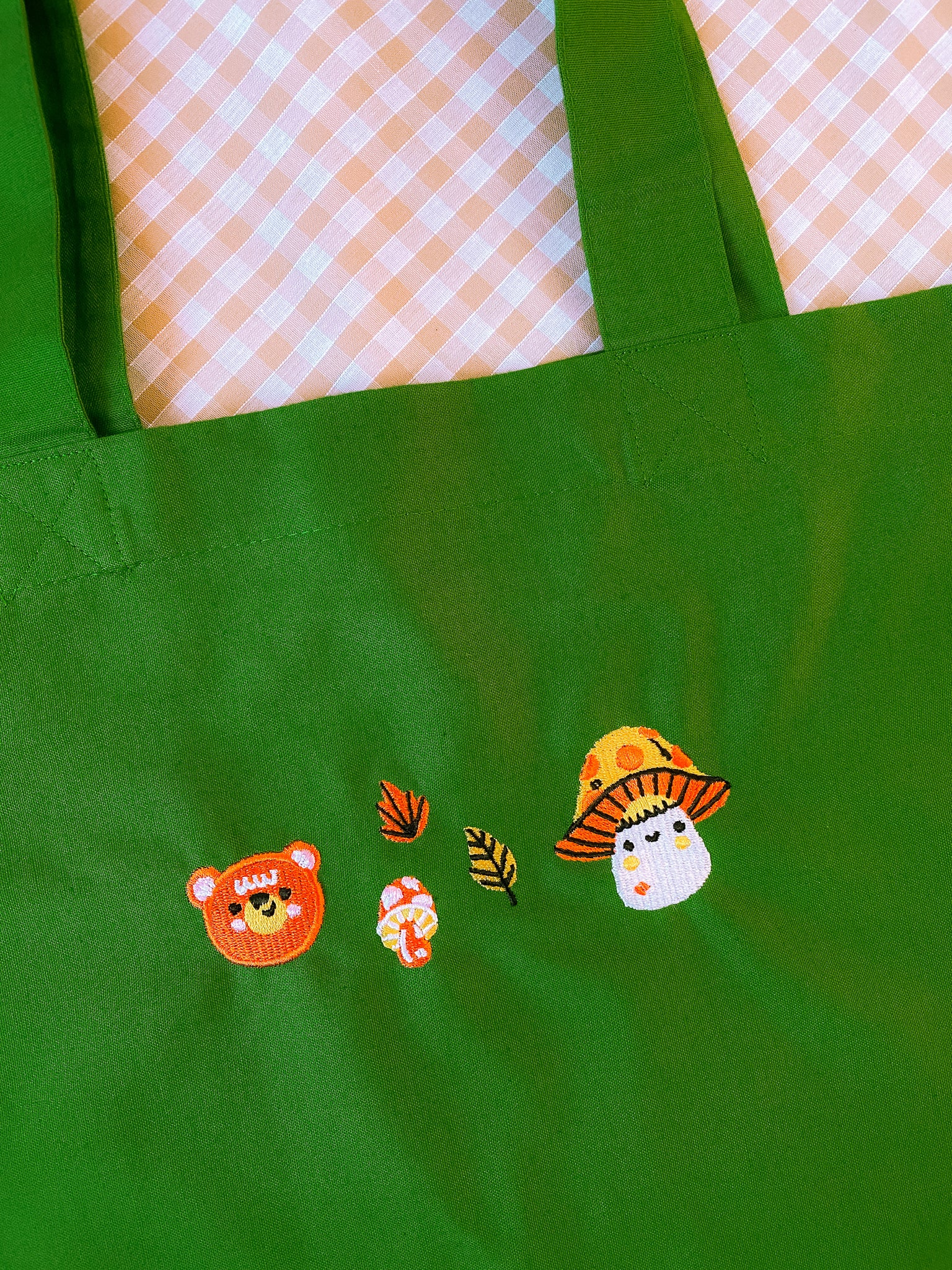 Forest Friends Organic Tote Bag