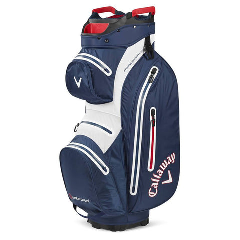 Callaway Hyper Dry Cart Bag - Navy/White