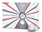 Callaway Supersoft Golf Balls - 1 Dozen White