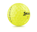 Srixon Z-Star XV Golf Balls - 1 Dozen Yellow