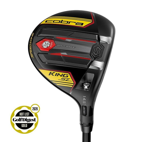 Cobra Speedzone Fairway Black Yellow