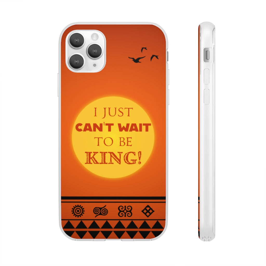 Can't Wait to Be King - iPhone Flexi Case