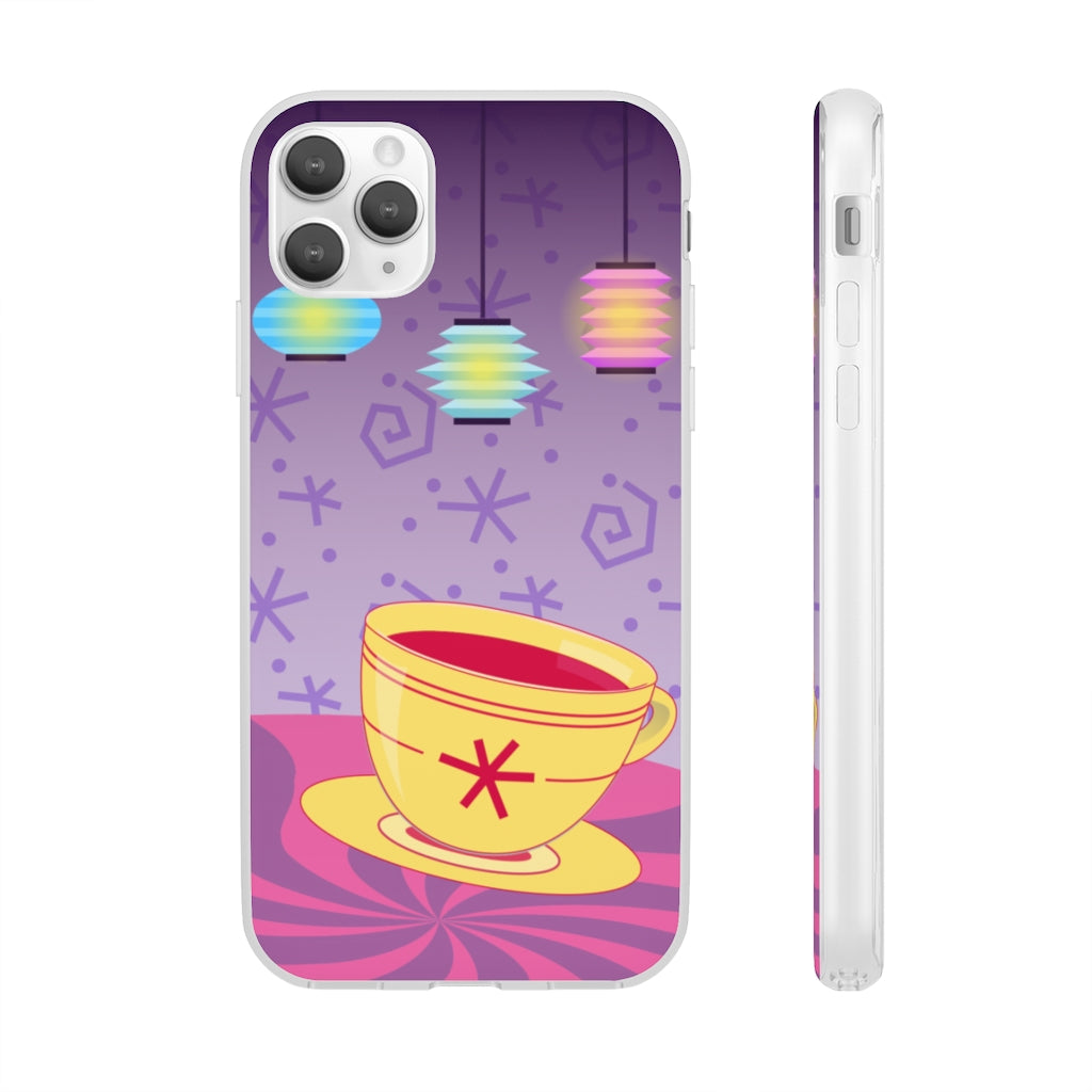 Unbirthday Party - iPhone Flexi Case
