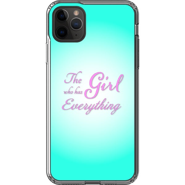 The Girl Who Has Everything - iPhone Hybrid Case