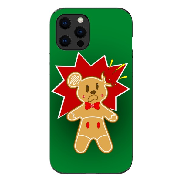 A Crunchy Christmas - iPhone Card Slot Case