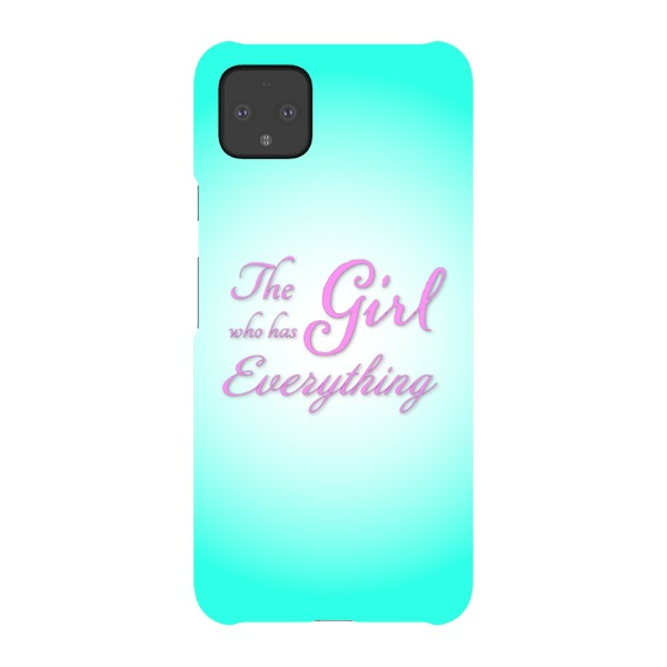The Girl Who Has Everything - Pixel Snap Case