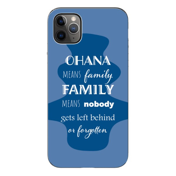 Ohana Means Family - iPhone Card Slot Case