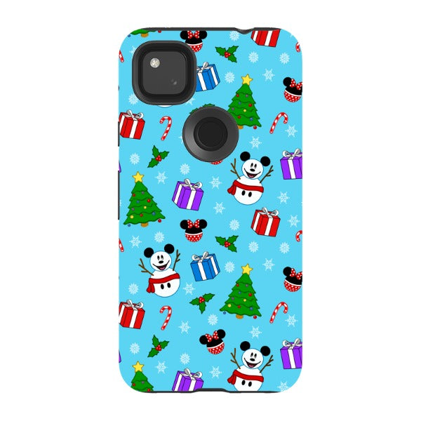 A Merry Mickey Christmas - Pixel Tough Case