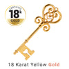 18 Karat Yellow Gold Plated 50% off
