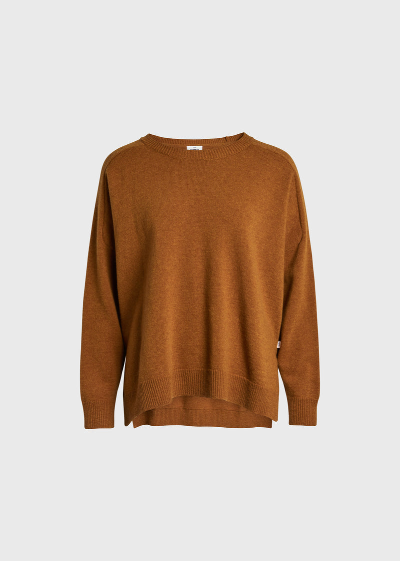 Klitmøller Collective ApS Cirkeline knit Knitted sweaters Amber