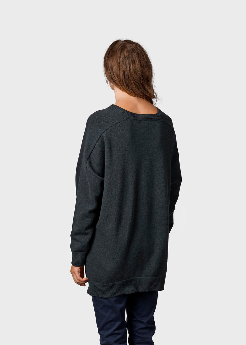 Klitmøller Collective ApS Cirkeline knit Knitted sweaters Olive