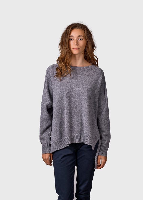 Klitmøller Collective ApS Cirkeline knit Knitted sweaters Light grey