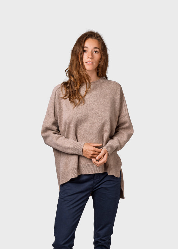 Klitmøller Collective ApS Cirkeline knit Knitted sweaters Sand