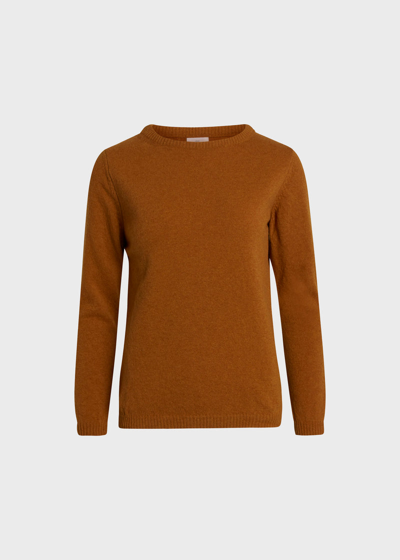 Klitmøller Collective ApS Daniella knit Knitted sweaters Amber