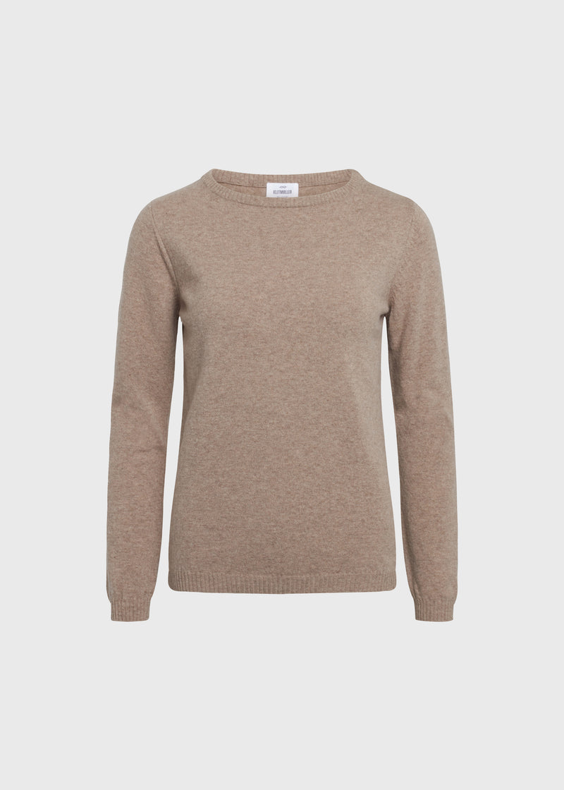 Klitmøller Collective ApS Daniella knit Knitted sweaters Sand