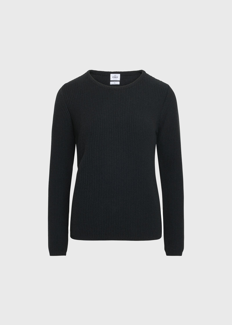 Klitmøller Collective ApS Frida knit Knitted sweaters Olive