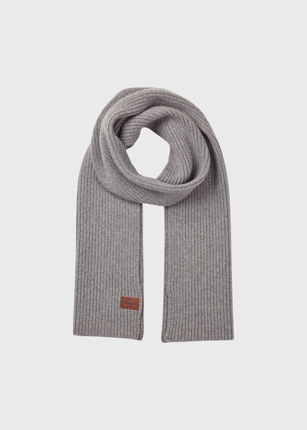 Klitmøller Collective ApS Heavy rib scarf Scarfs Light grey