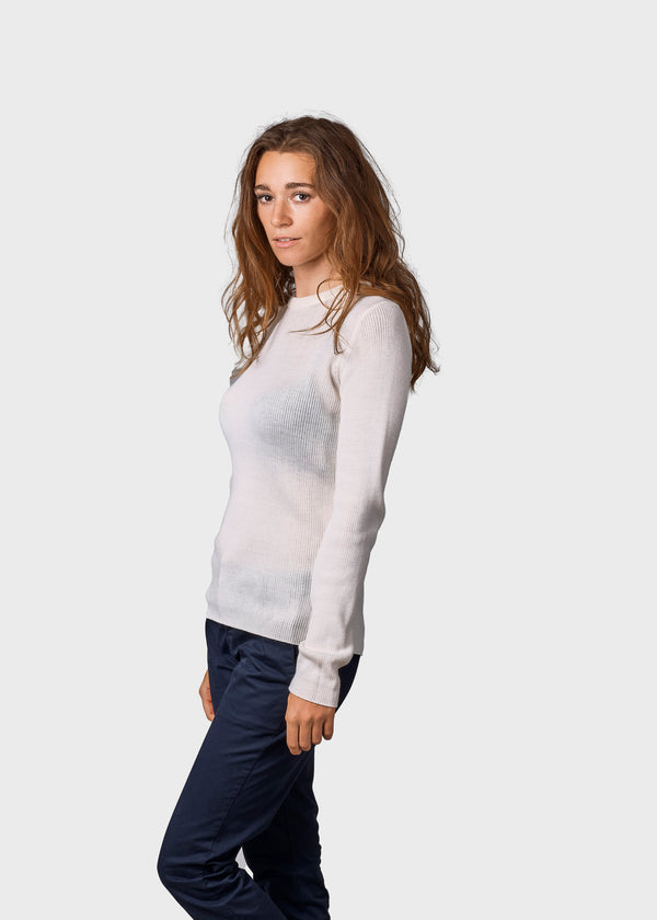 Klitmøller Collective ApS Ingrid knit Knitted sweaters Cream