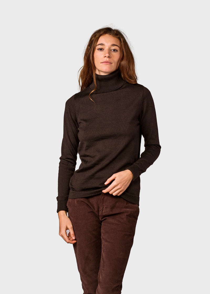 Klitmøller Collective ApS Isabella knit Knitted sweaters Earth