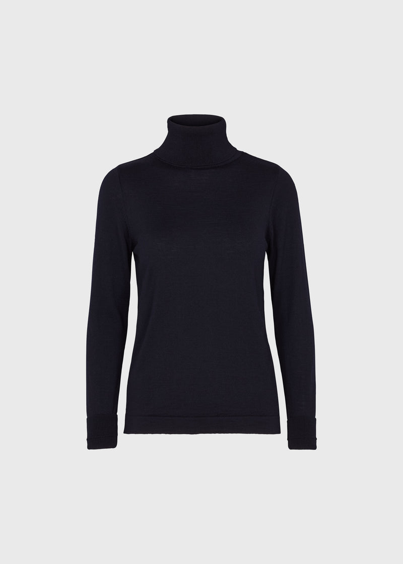 Klitmøller Collective ApS Isabella knit Knitted sweaters Navy