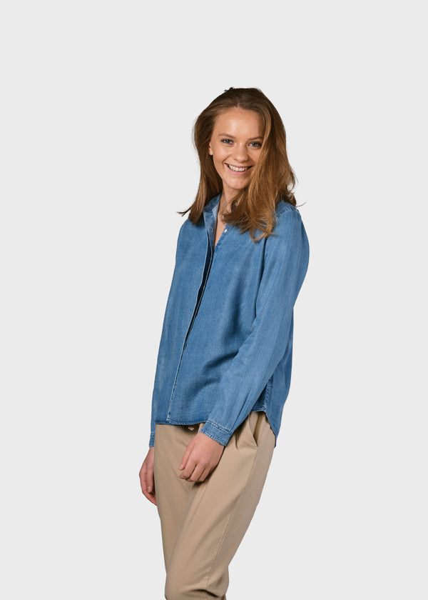 Klitmøller Collective ApS Julie chambrey shirt Shirts Light blue