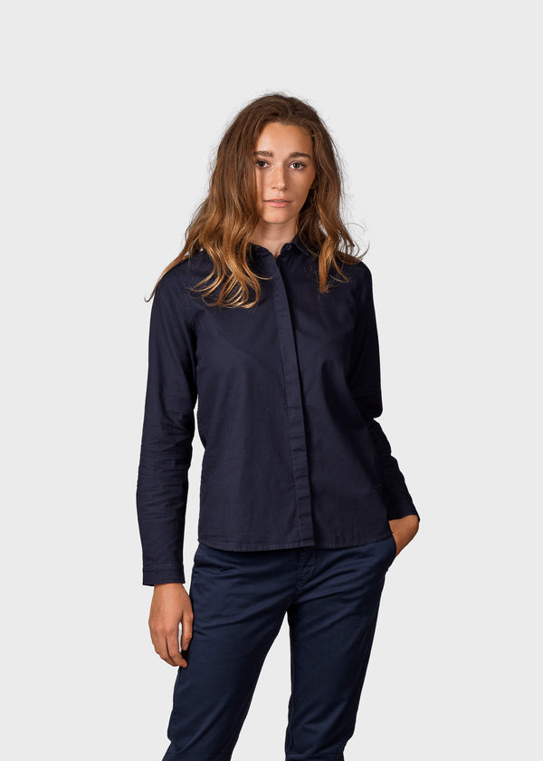 Klitmøller Collective ApS Julie shirt Shirts Navy