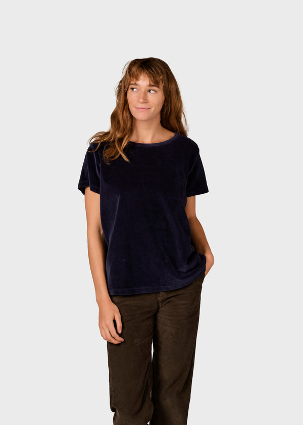 Klitmøller Collective ApS Kaia tee T-Shirts Navy