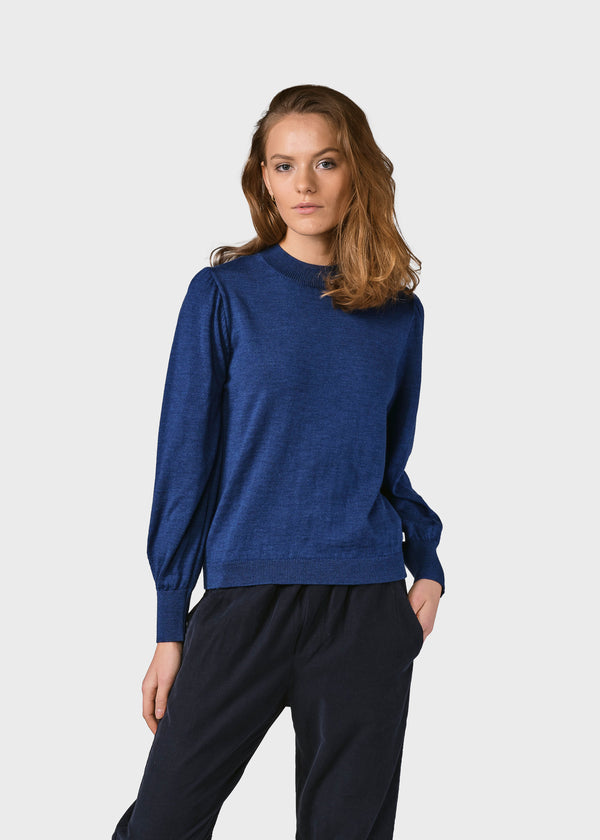 Klitmøller Collective ApS Lola knit Knitted sweaters Ocean