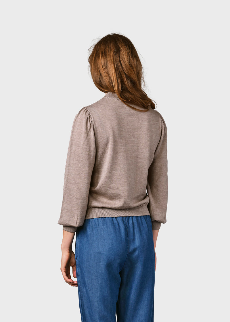 Klitmøller Collective ApS Lola knit Knitted sweaters Sand