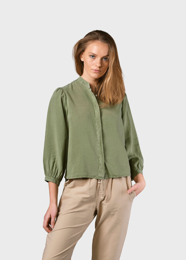 Klitmøller Collective ApS Malou shirt Shirts Pale green