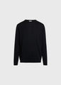 Mens basic merino knit - Black