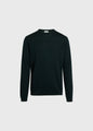 Mens basic merino knit - Olive
