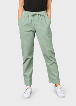 Klitmøller Collective ApS Nicoline corduroy pant Pants Pale green